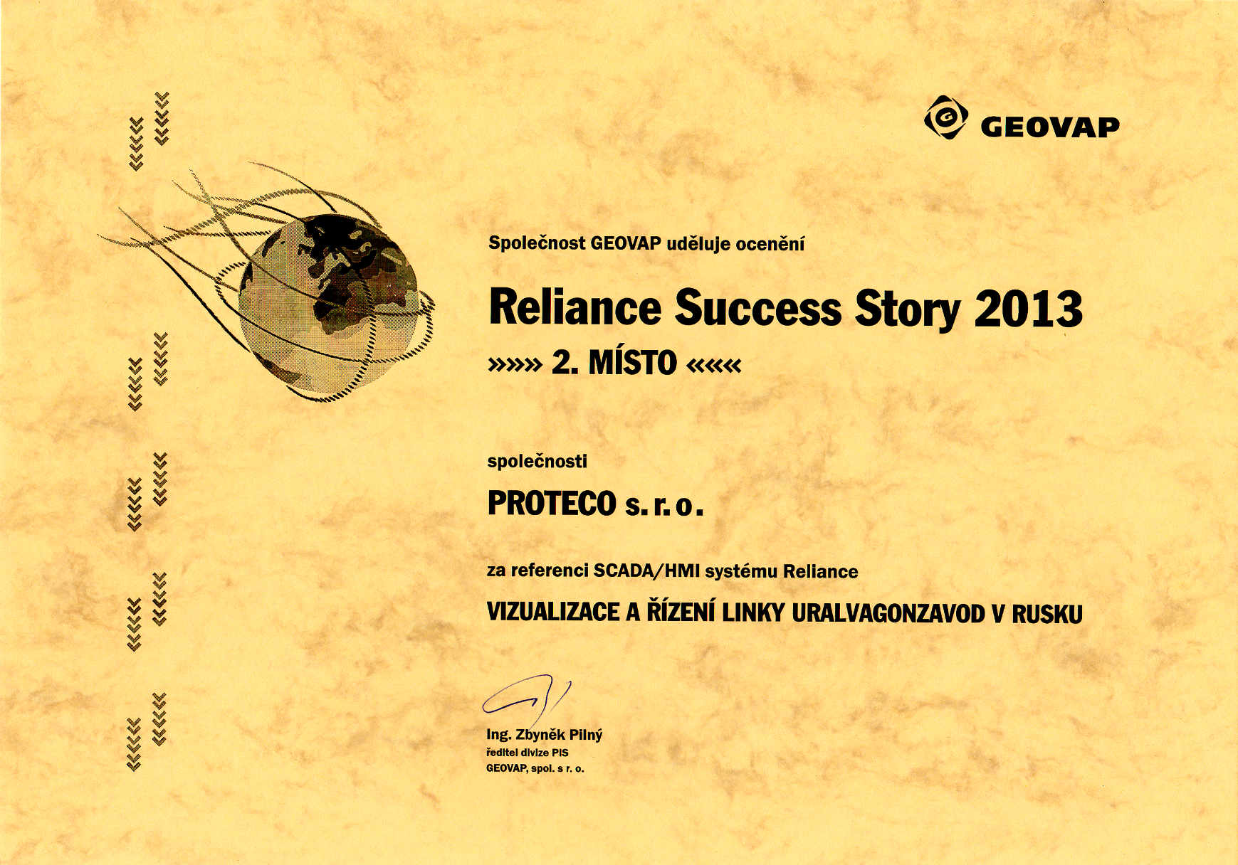 Reliance Success Story 2013